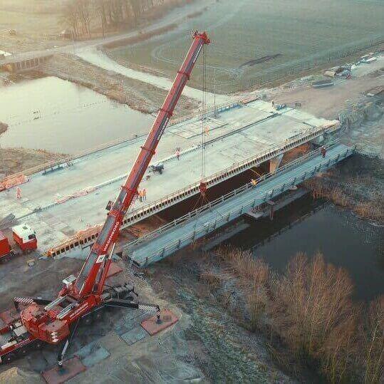 Most technologiczny JSB