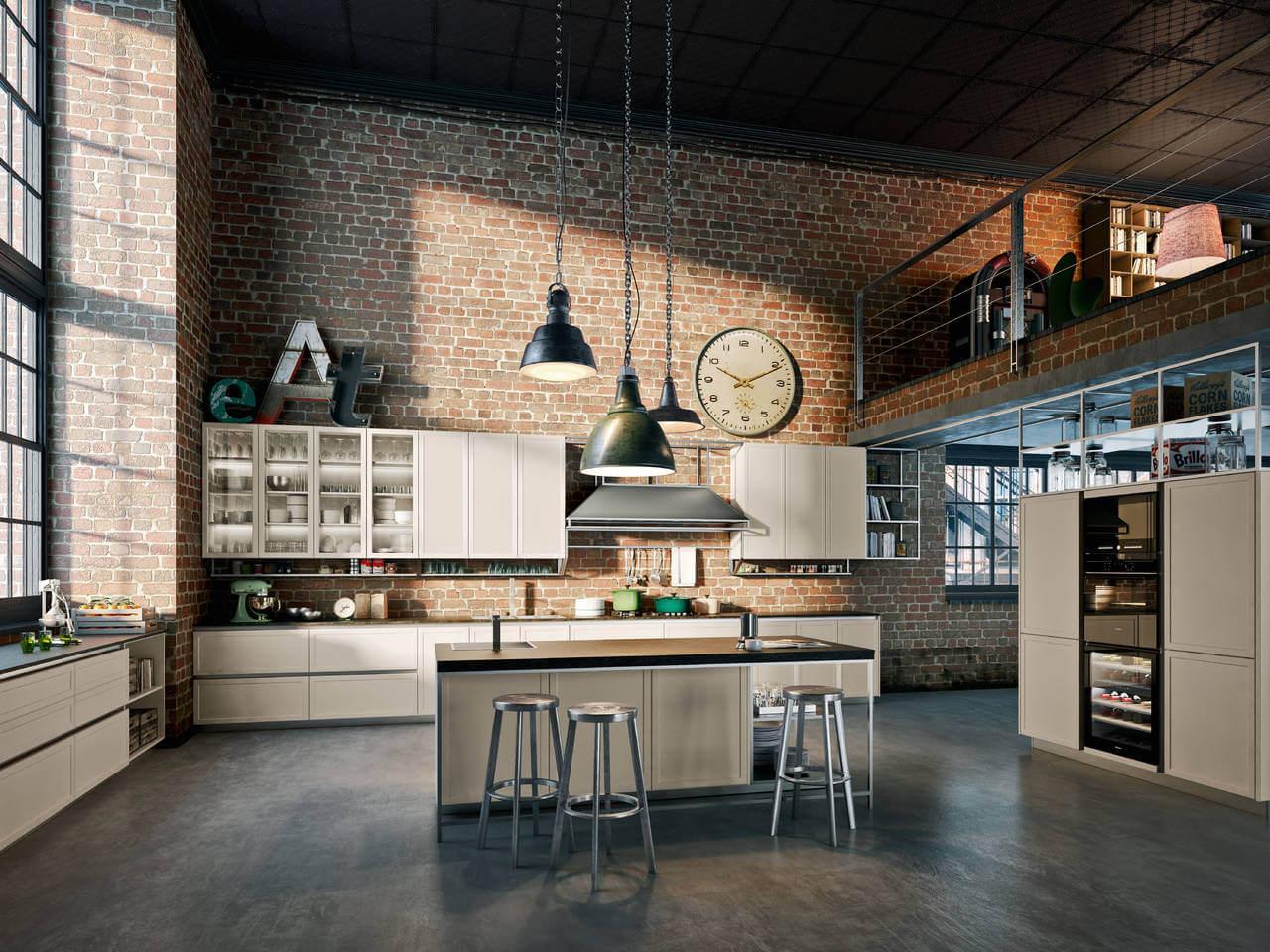 Keuken in industriële stijl
