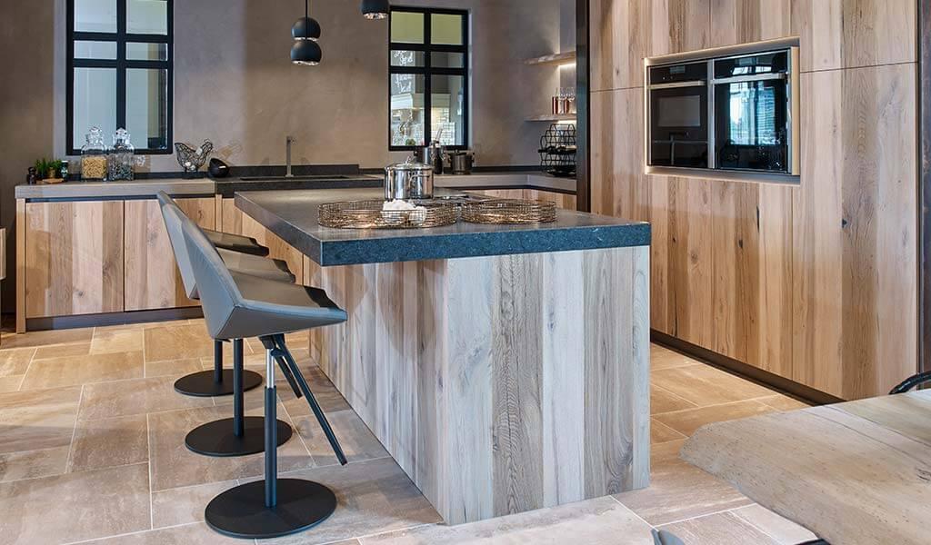 Keuken met veel ruimte