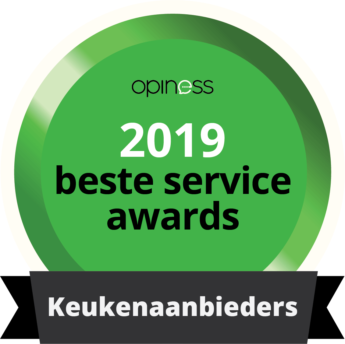 Tieleman Keukens Beste Service Awards 2019 winnaar