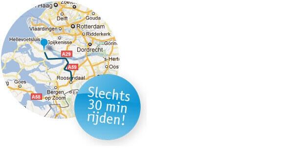 Kaart Roosendaal naar Tieleman Keukens