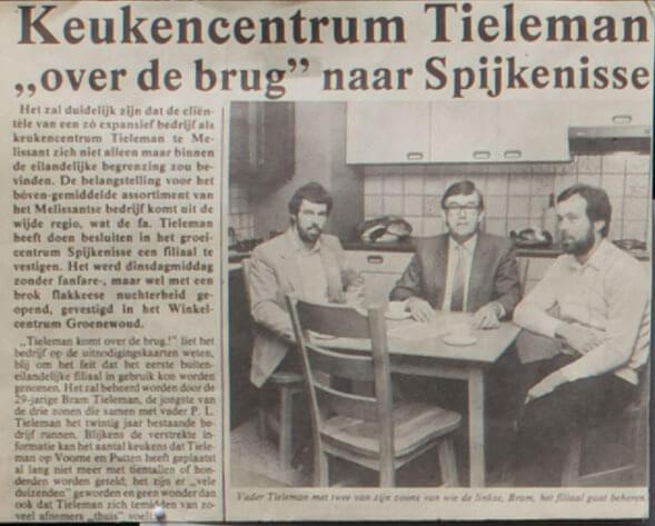 Tieleman Keukens naar Spijkenisse