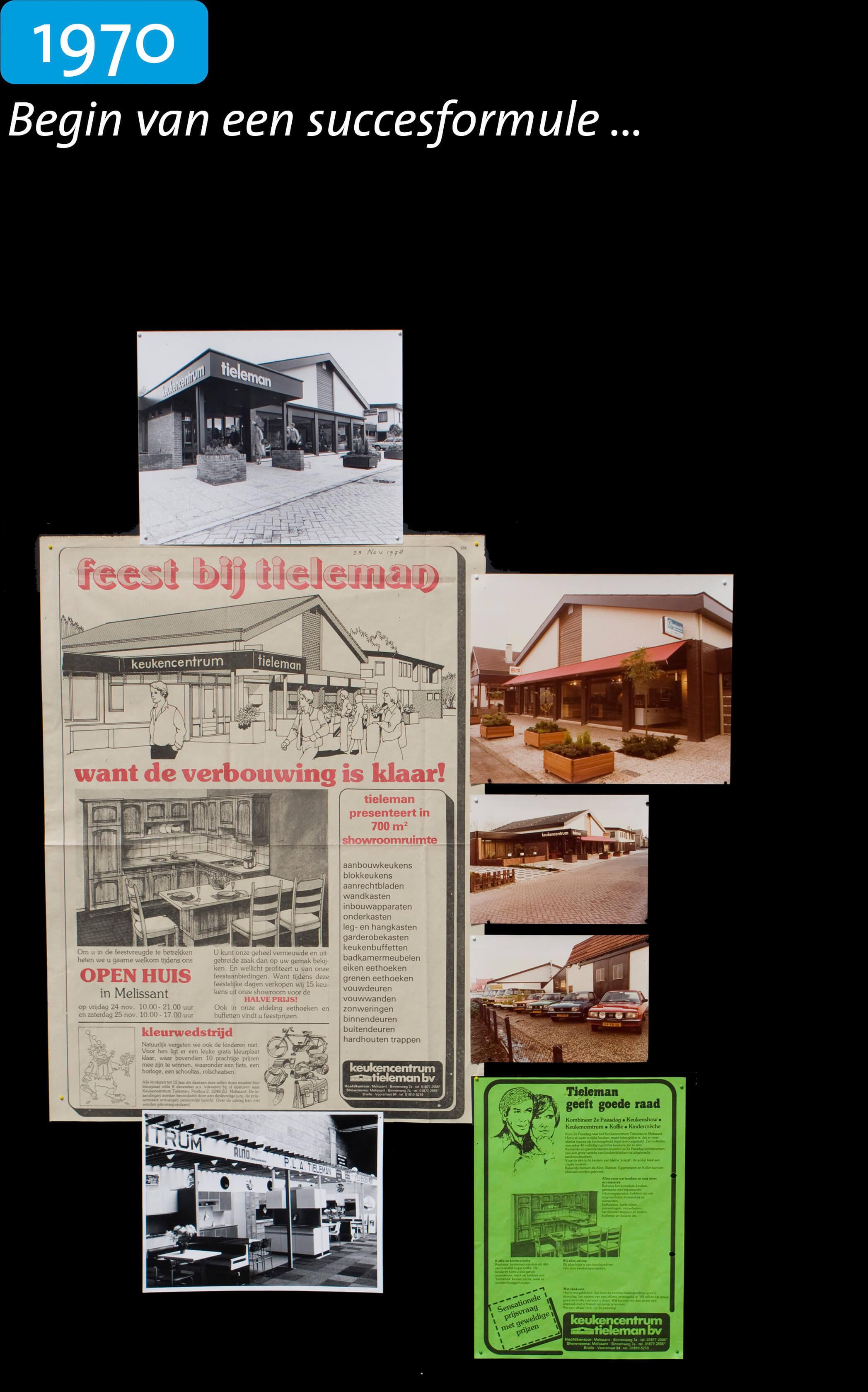 Tieleman Keukens geschiedenis 1970