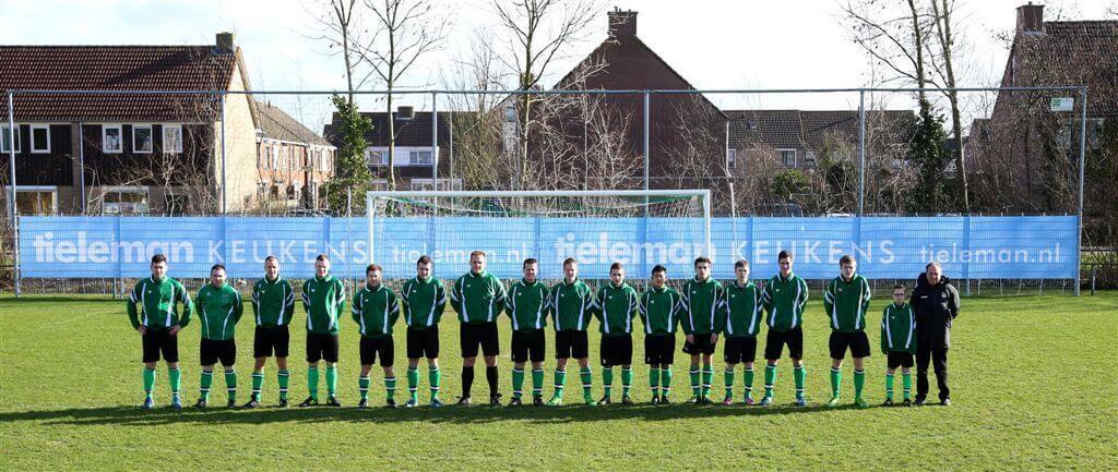Tieleman Keukens sponsoring voetbal