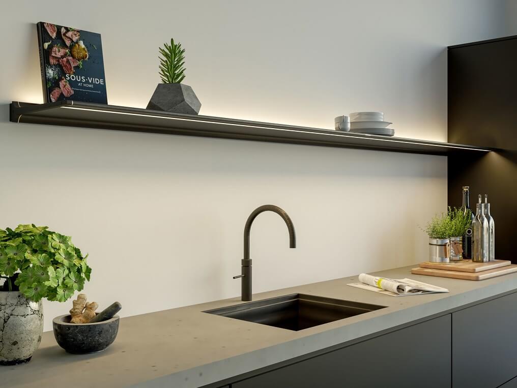 Jansen en De Bont keukenverlichting Shelf