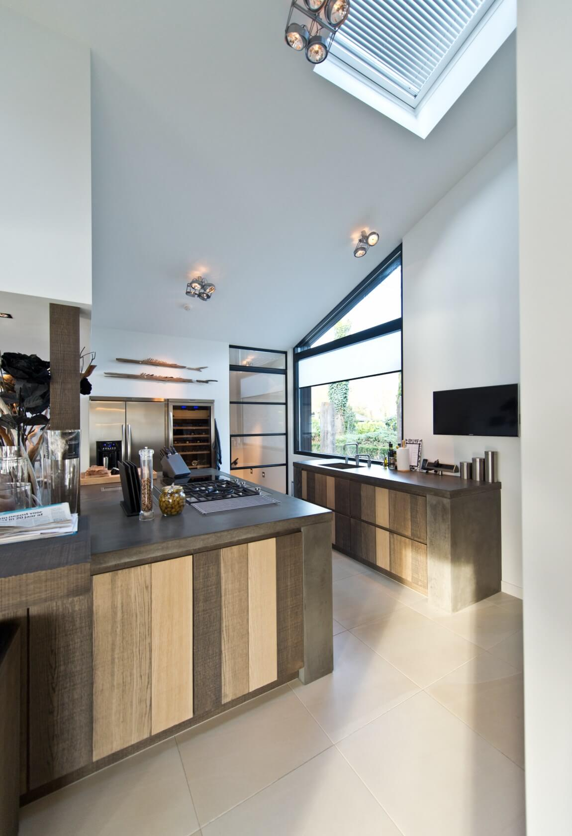 Handgemaakte (eiken)houten Tieleman-keuken
