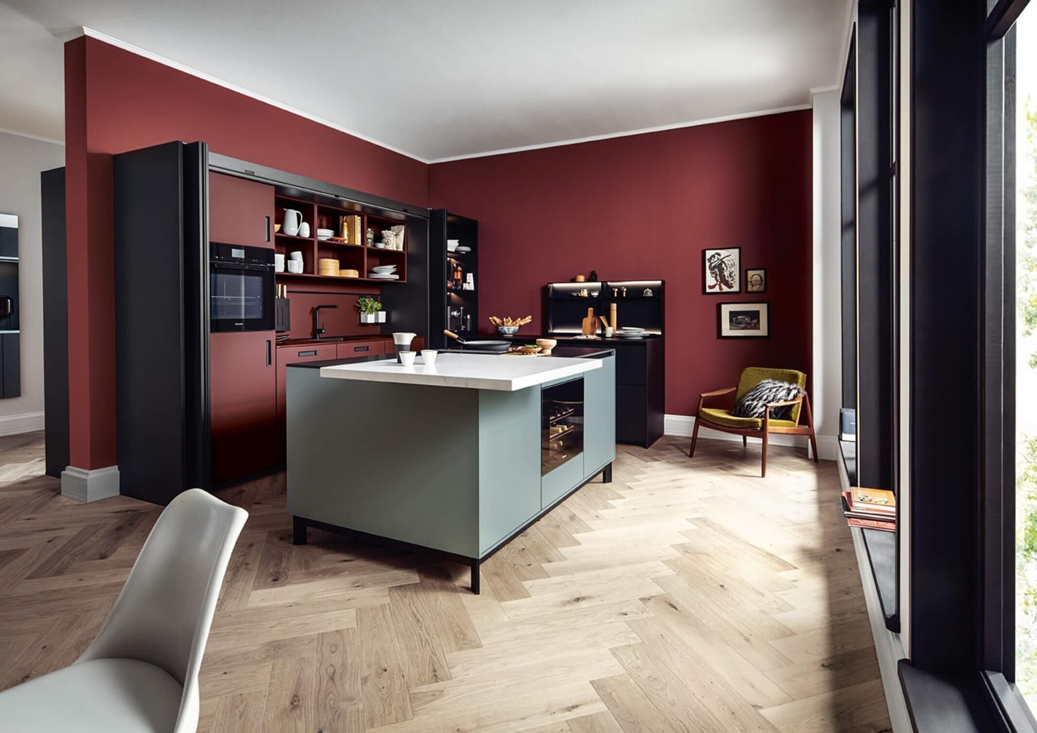 Gekleurde keukens