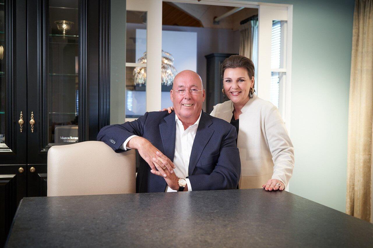Jan Tieleman en Sharon van Maison Sucre