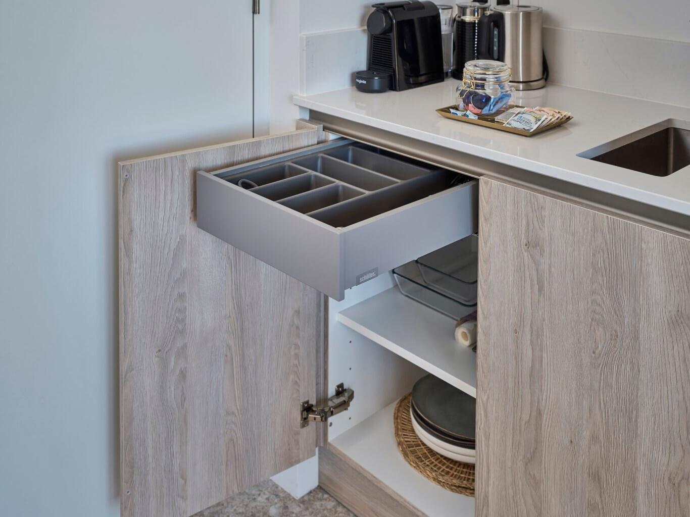 Geplaatste Tieleman-keuken Summum Suites Domburg
