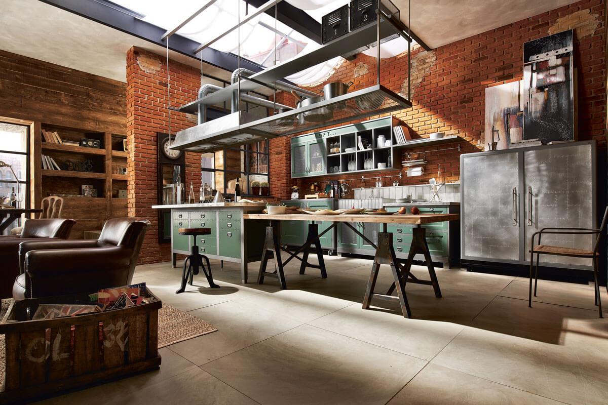 Snaidero cucine loft industriële keuken