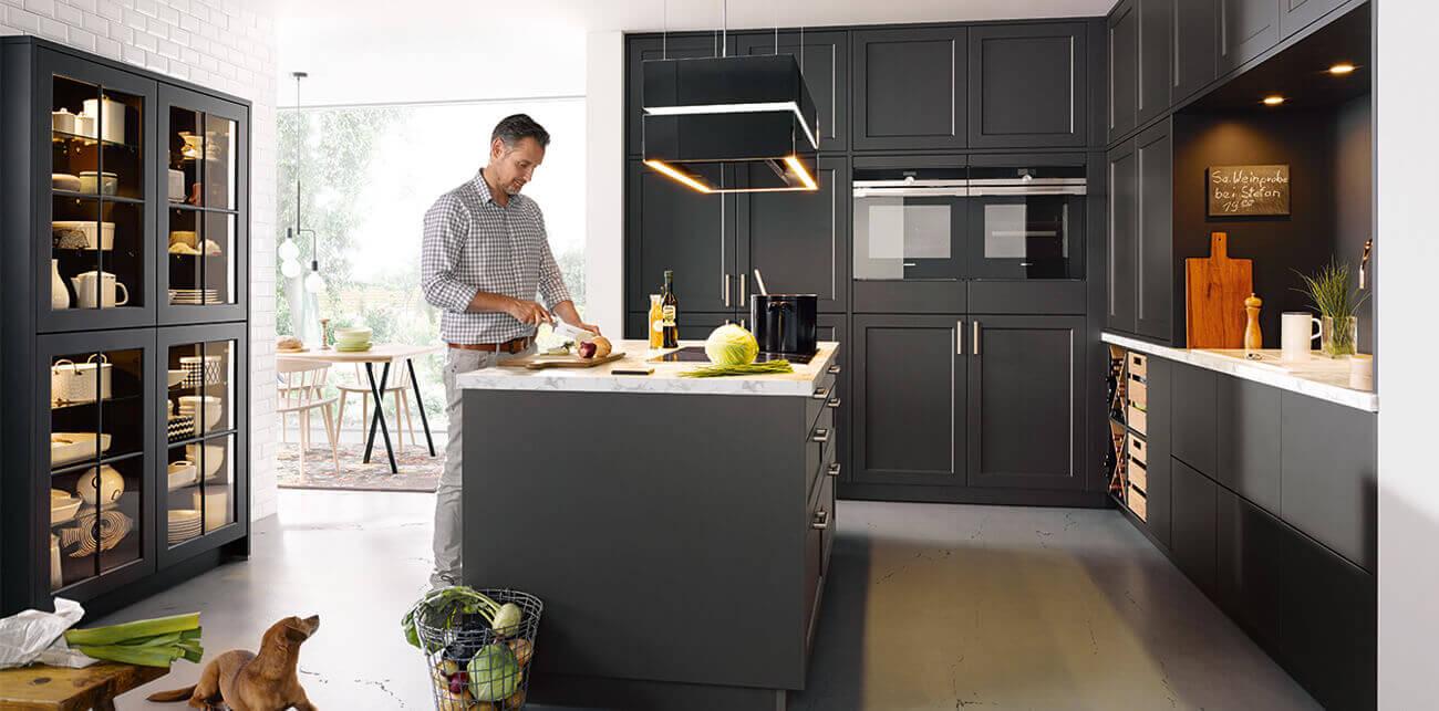 Inspiratie zwarte keukens