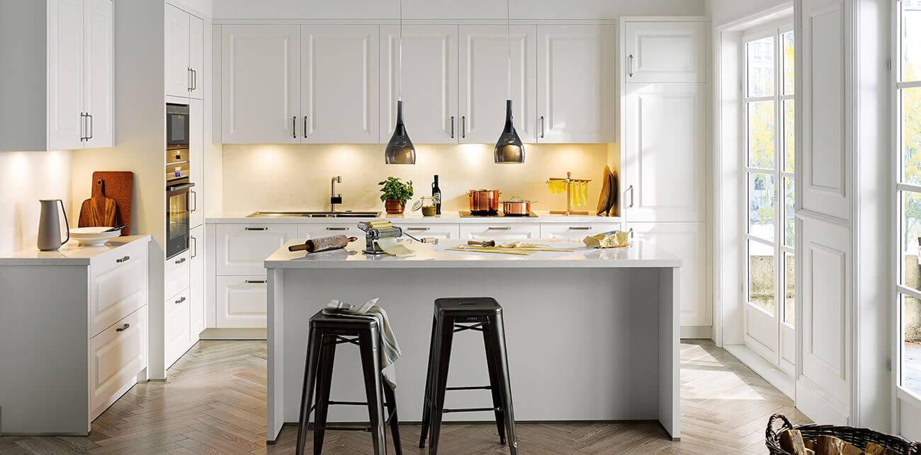 Witte keukens van Tieleman Keukens