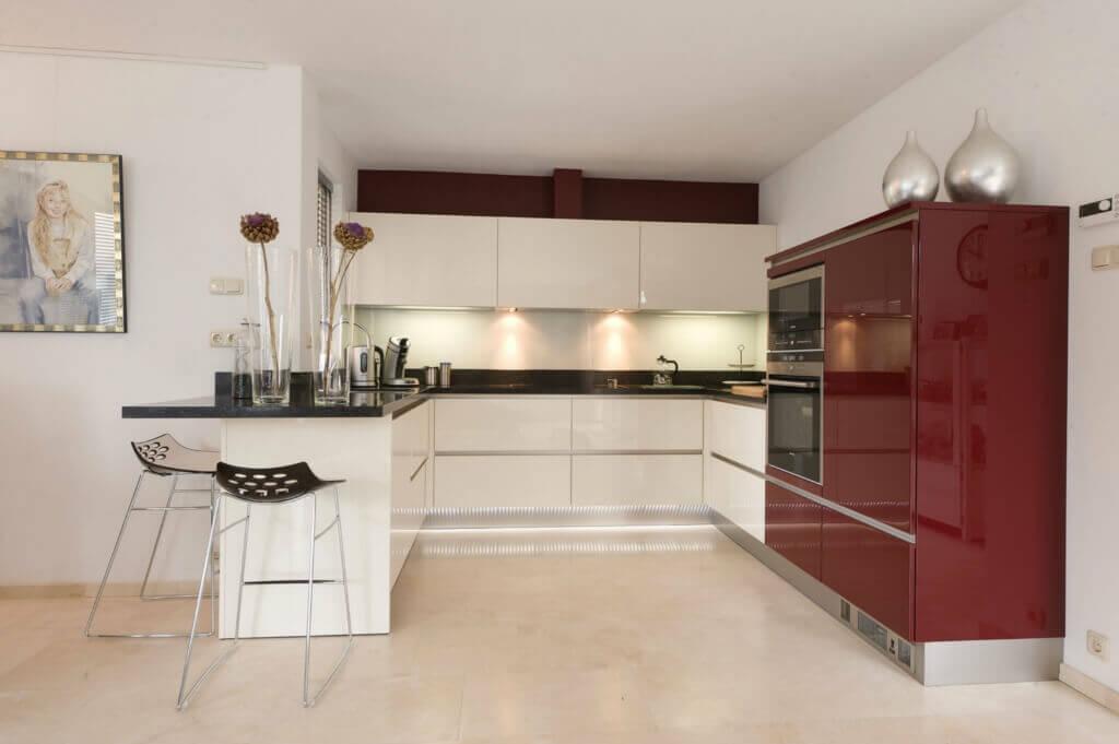 Rode keukens inspiratie