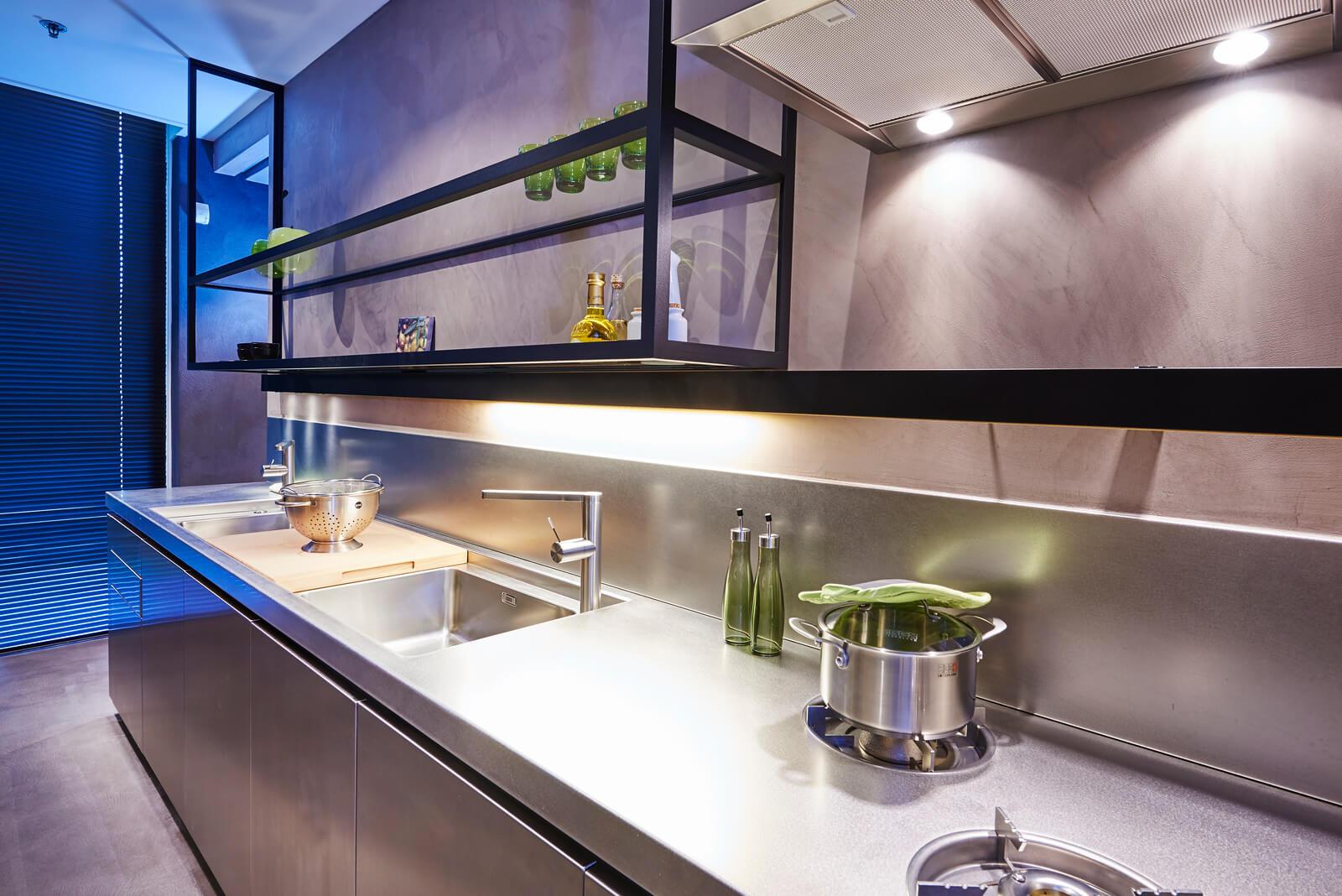RVS keuken