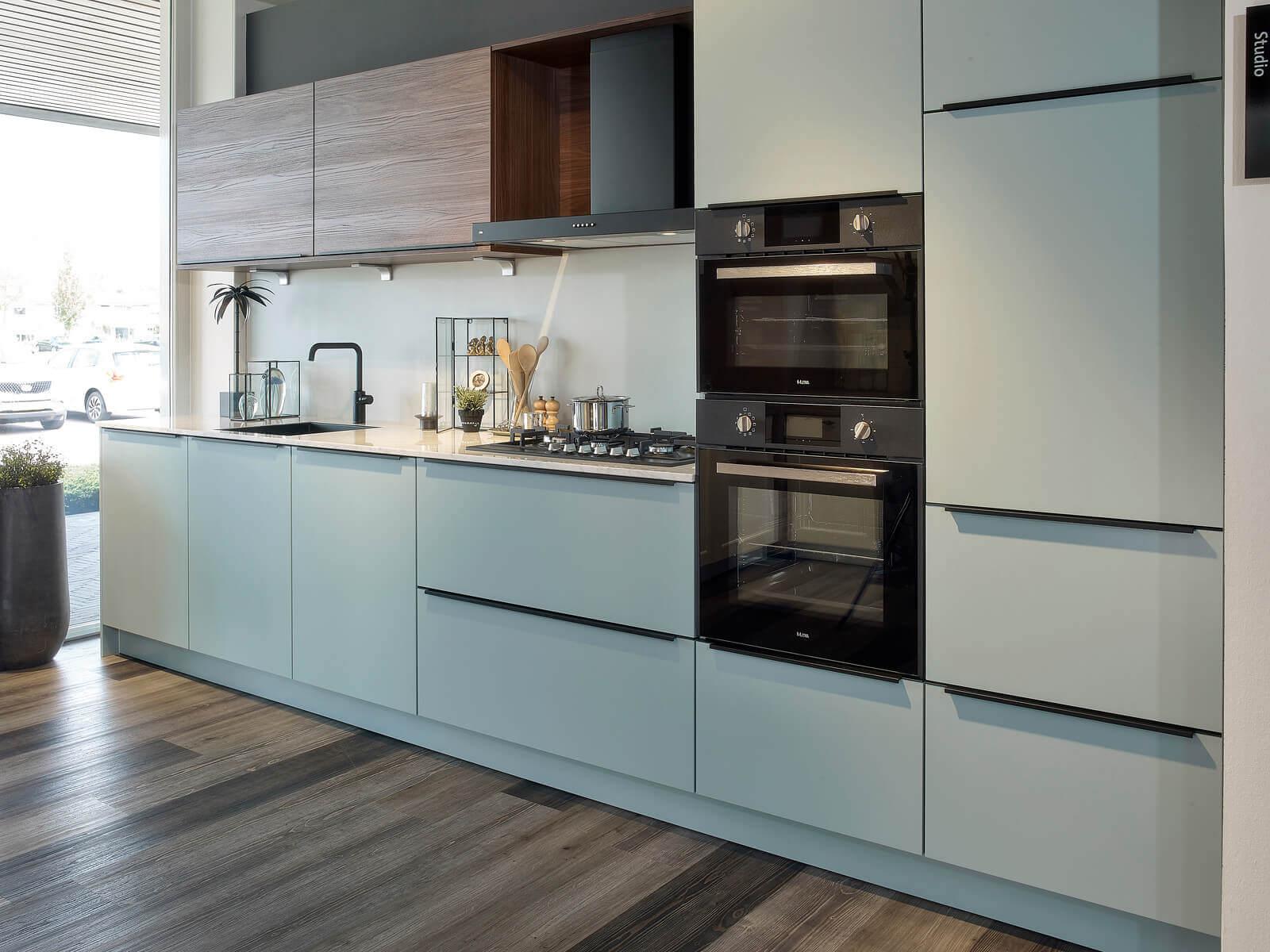 Keuken in de I-vorm
