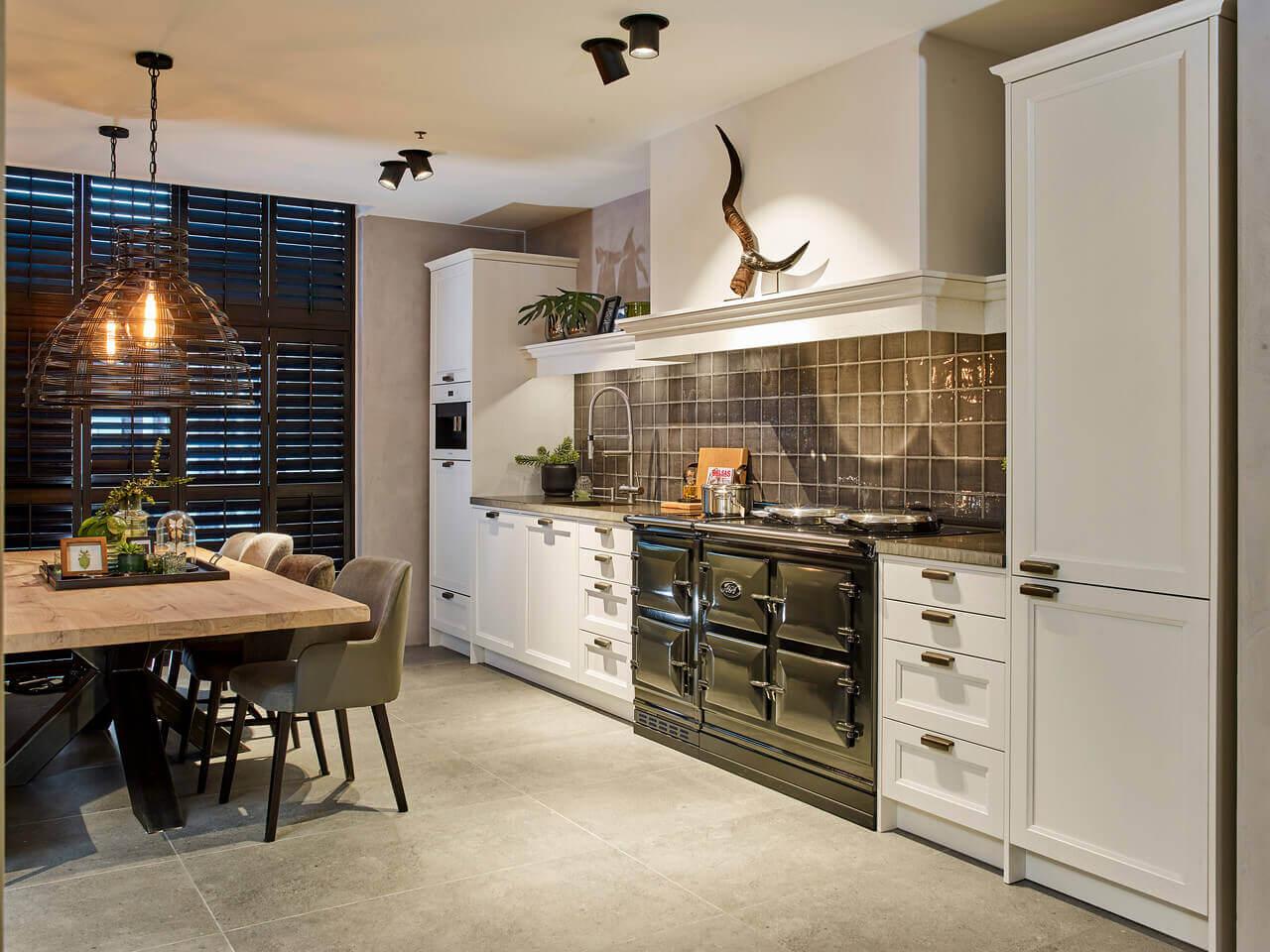 Keuken in de I-opstelling