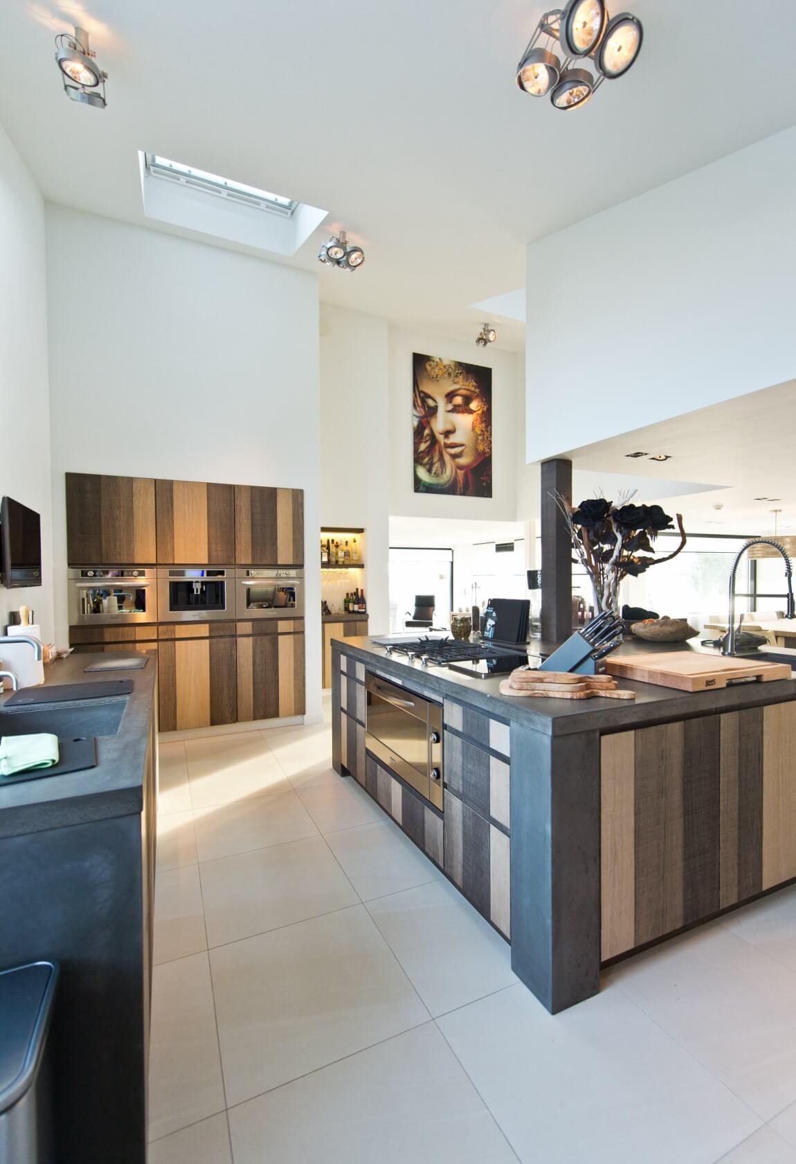Keukens met een kookeiland