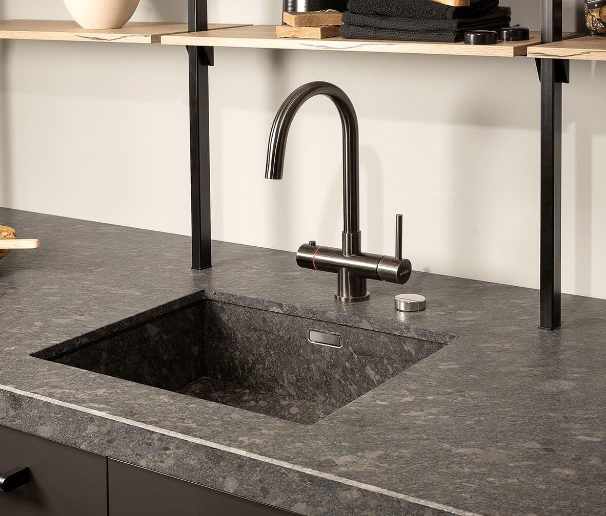 Natuursteen graniet keukenblad van Arte