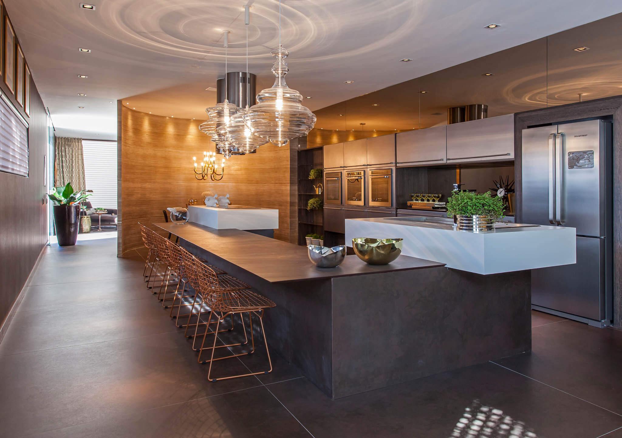 Dekton aanrechtblad luxe keuken
