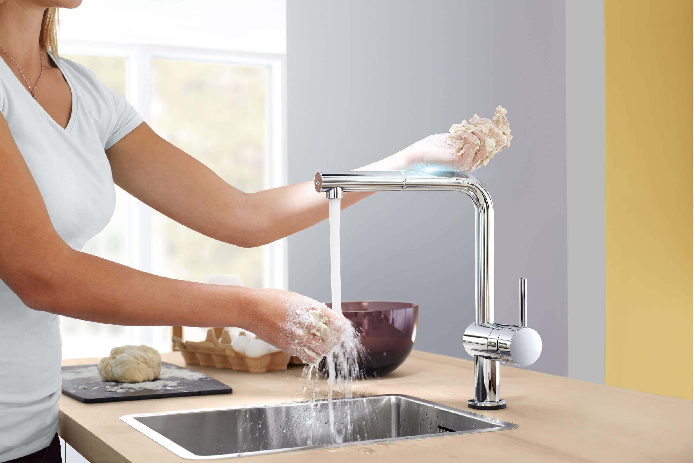 Grohe Minta Touch keukenkraan
