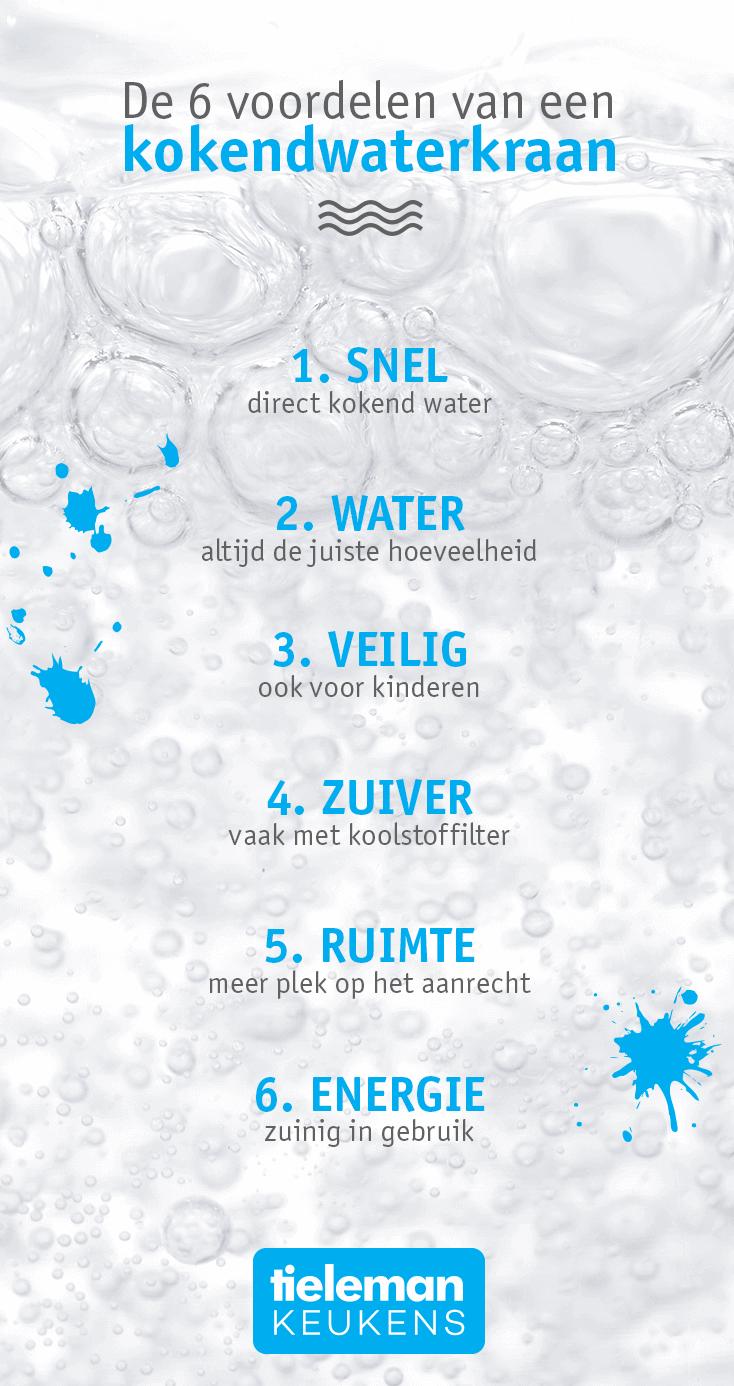 Voordelen kokendwaterkraan