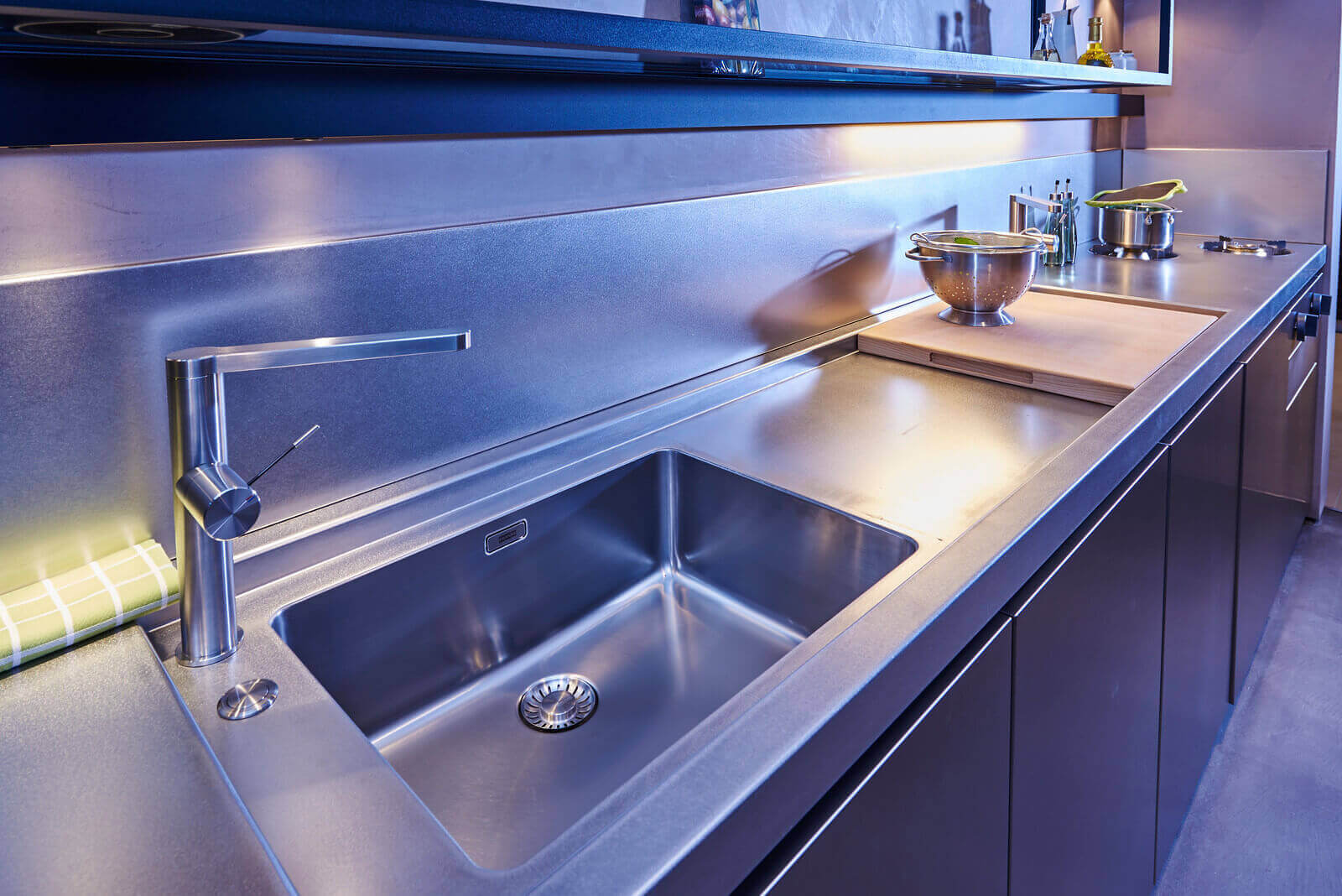 RVS keuken van Tieleman Keukens