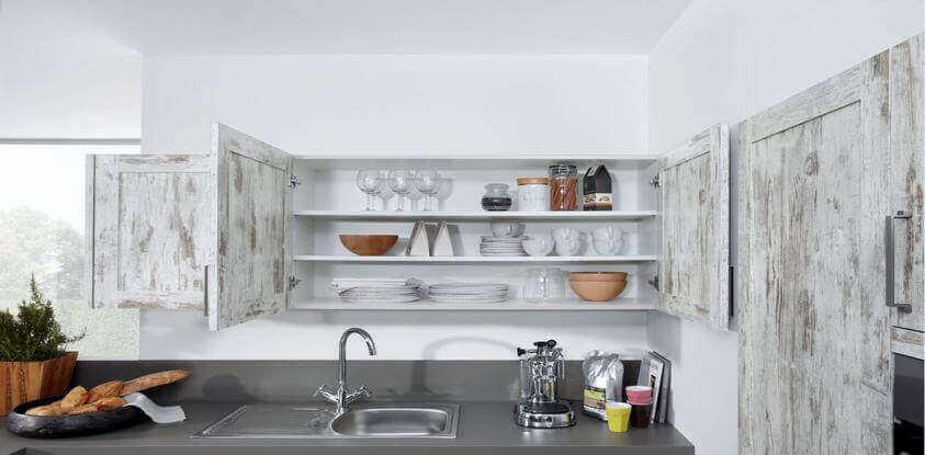 Vitrinekast in de keuken  ter inspiratie