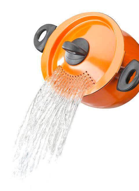 Water afgieten gadget
