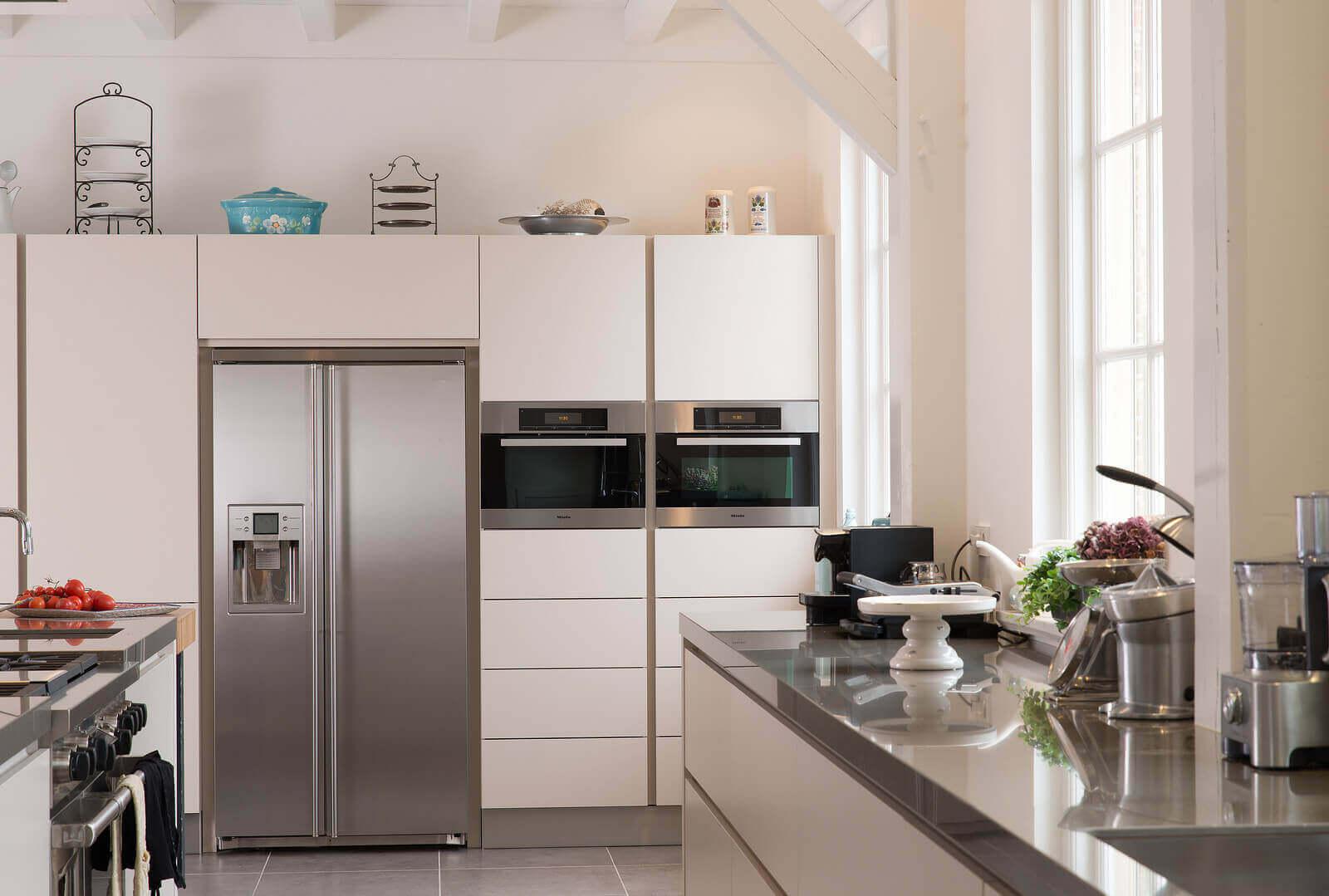 Geplaatste Tieleman-keuken