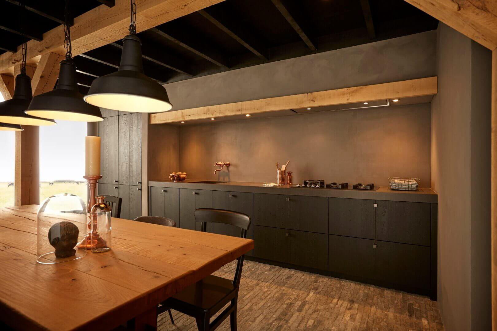Stoere keukens van Tieleman keukens