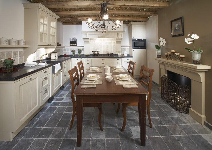 Nostalgische keukens van Tieleman Keukens