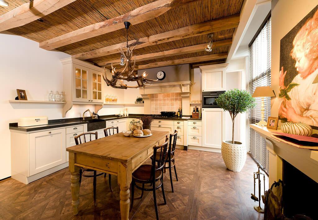 Rustieke keukens van Tieleman Keukens
