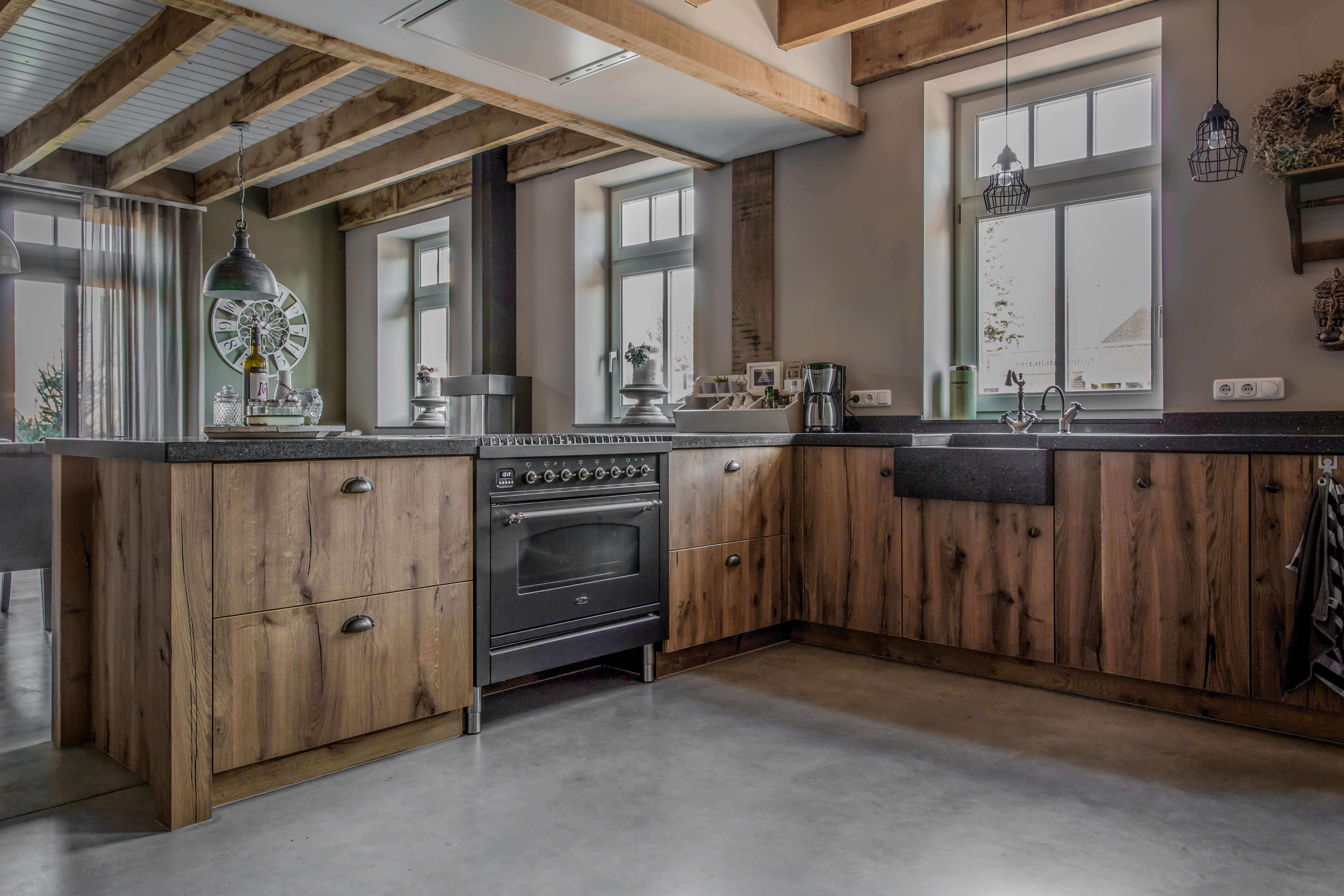 Stoere keukens