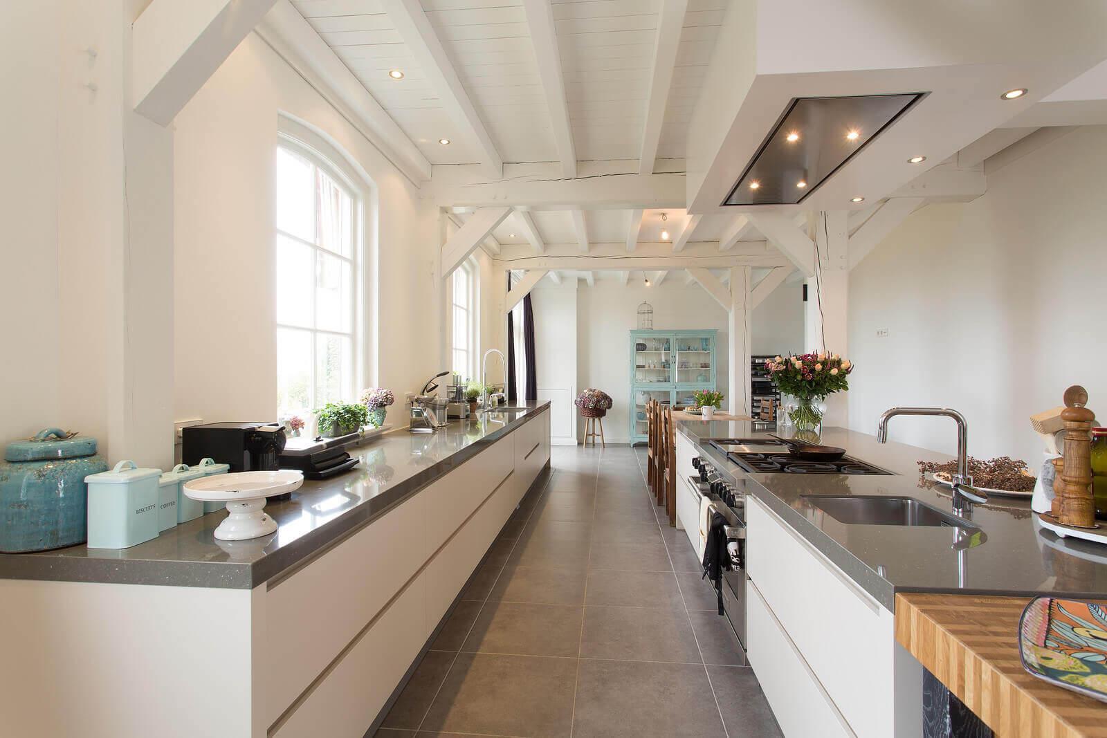 Prachtige witte keukens
