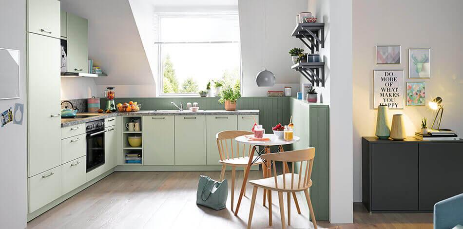 Groene keuken inspiratie