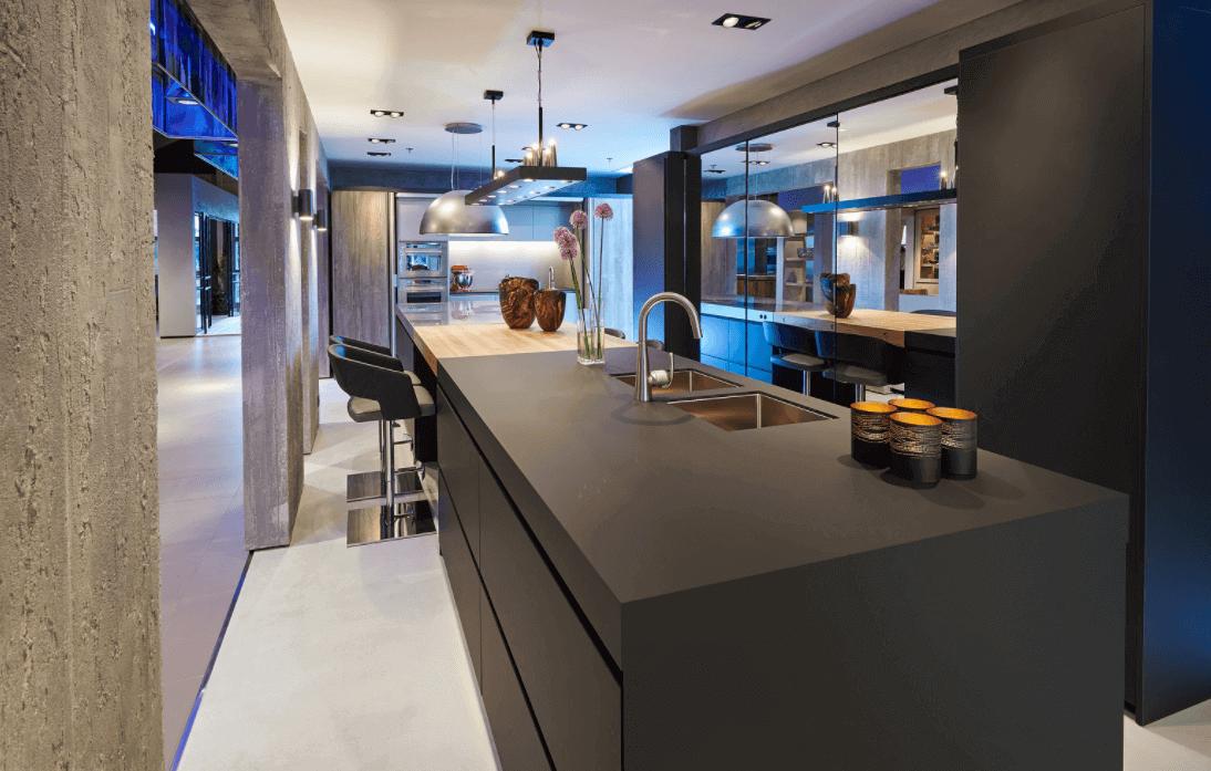 Monochrome keuken