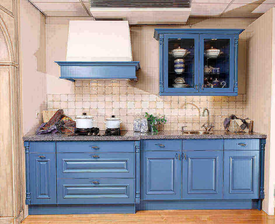 Blauwe keukens van Tieleman Keukens