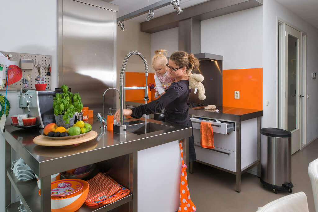 Open keukens van Tieleman Keukens