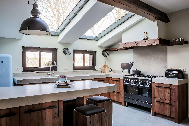 Voorbeelden van handgemaakte keukens