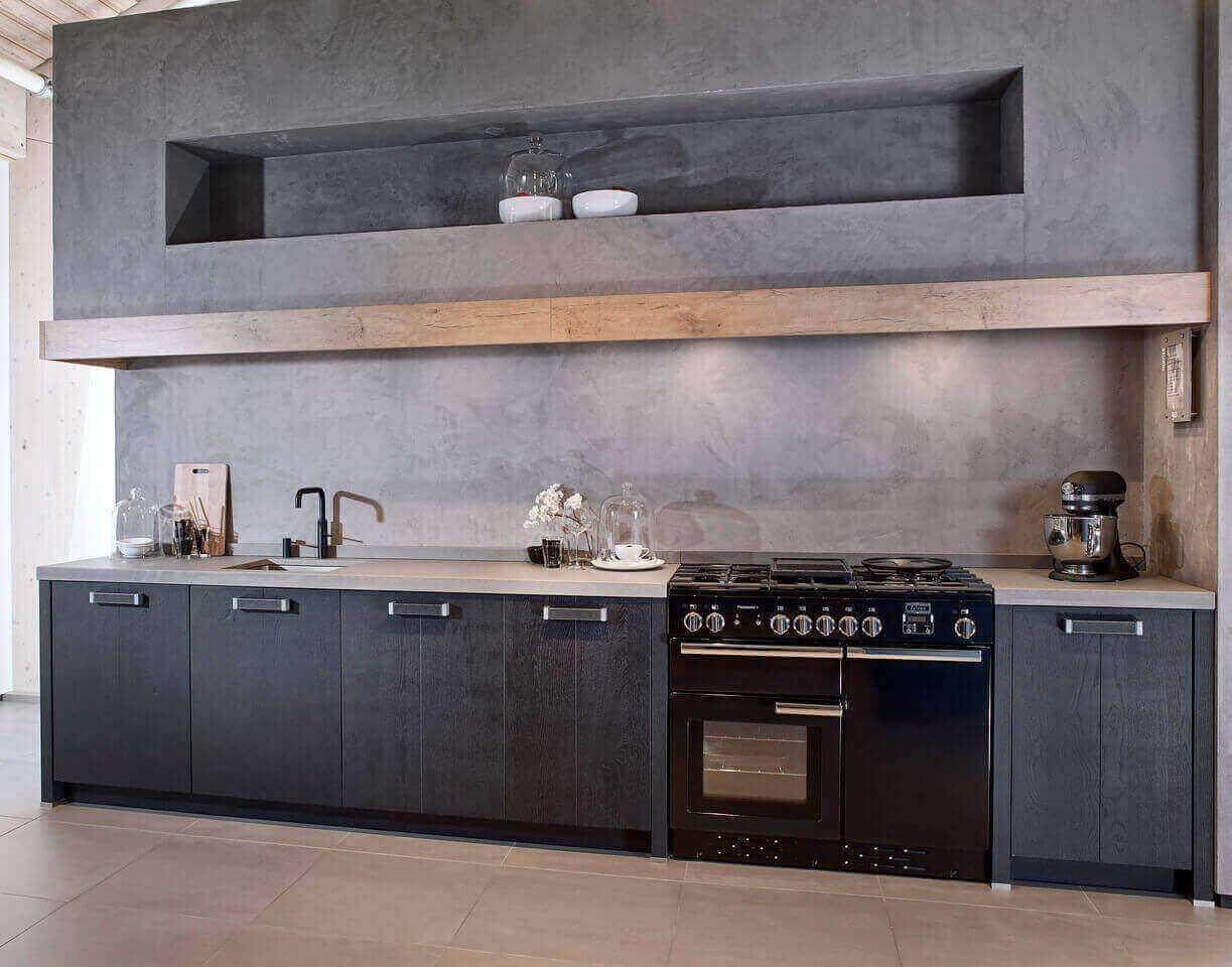 Betonlook keukens