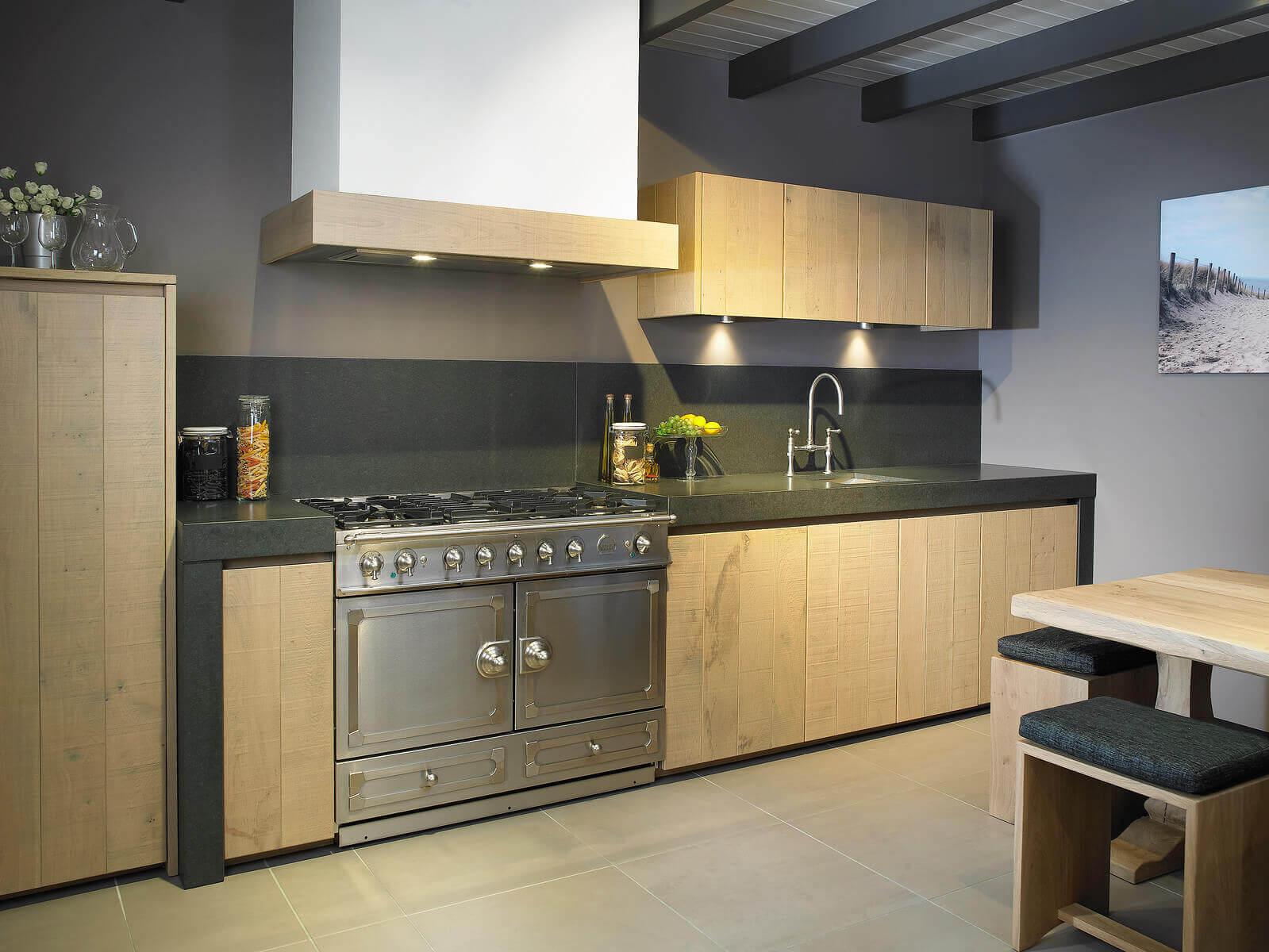 Eiken keukens van Tieleman Keukens