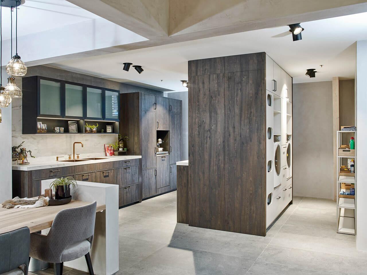 Old wood keuken