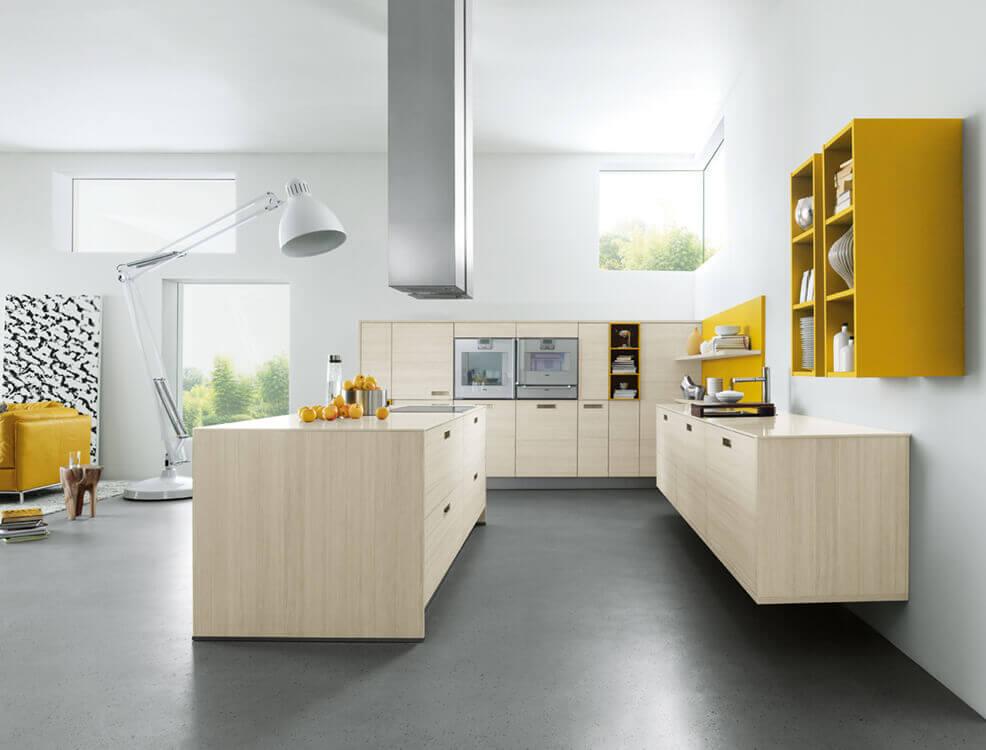 Lichte houtlook keuken