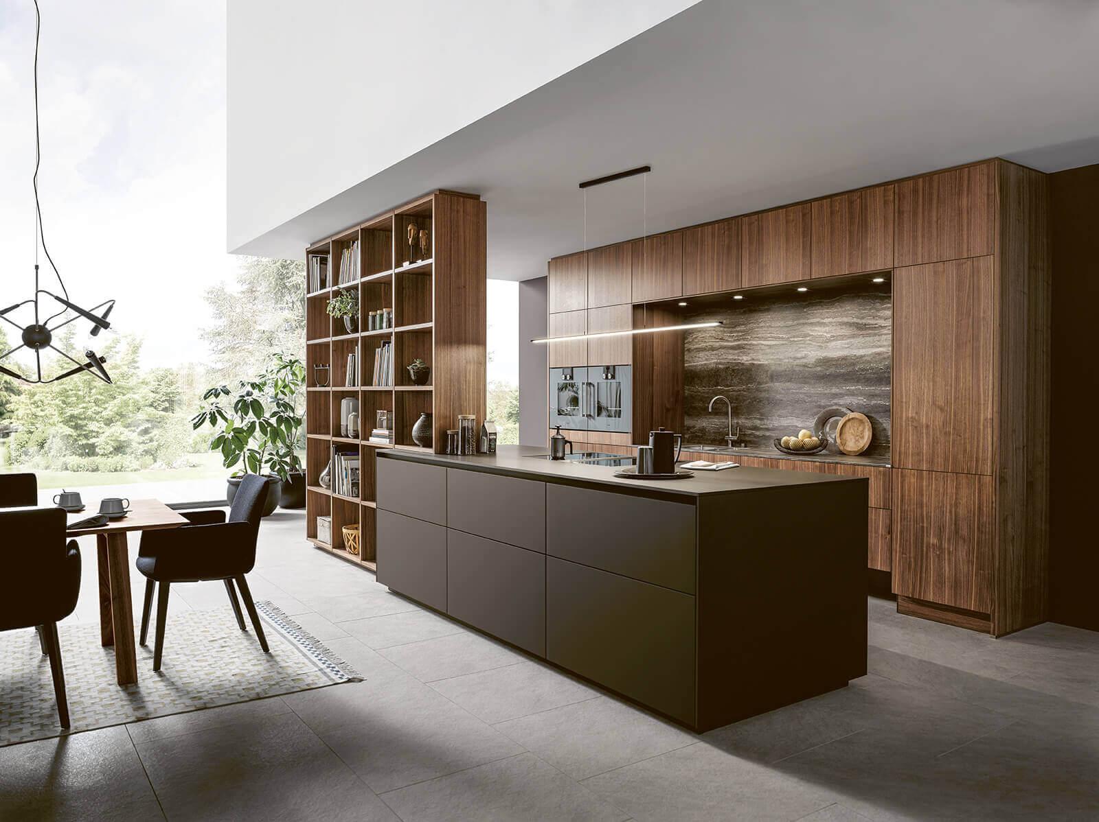 Marmer verwerkt in de keuken