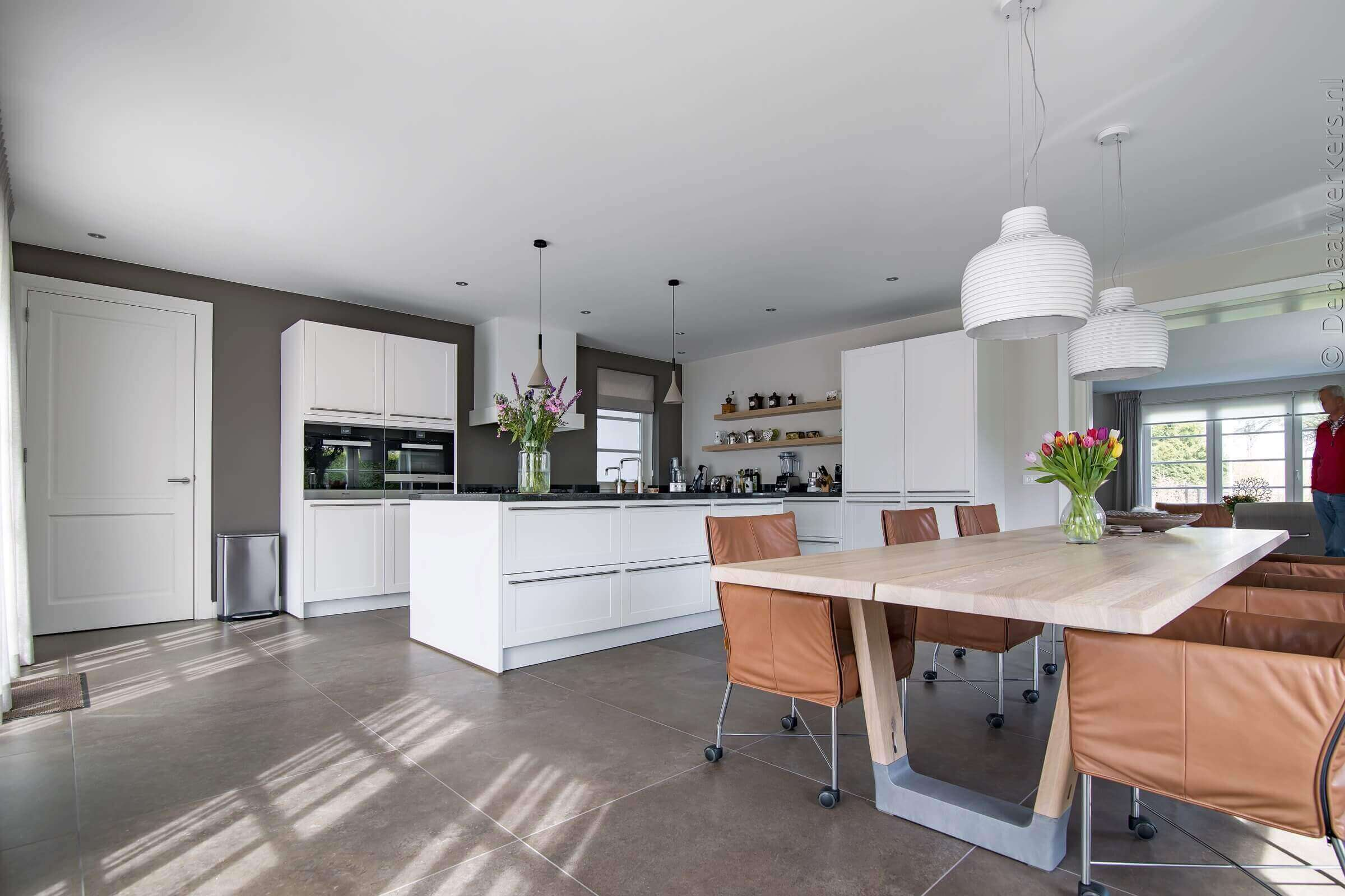 Witte keuken geplaatst door TIeleman Keukens