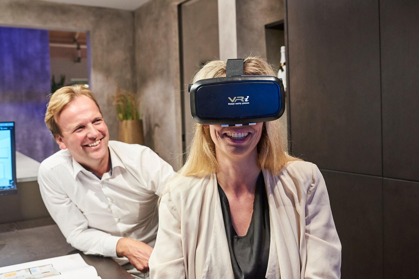 VR voor keukeninspiratie