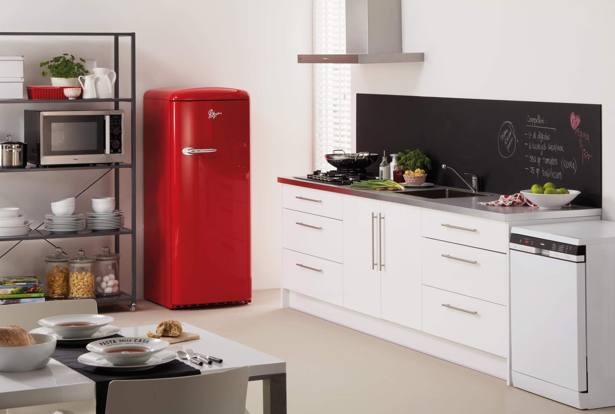 Retro koelkast Pelgrim