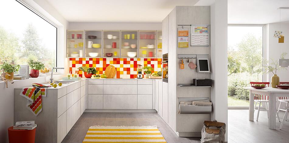 Sfeer in de keuken met een vloerkleed