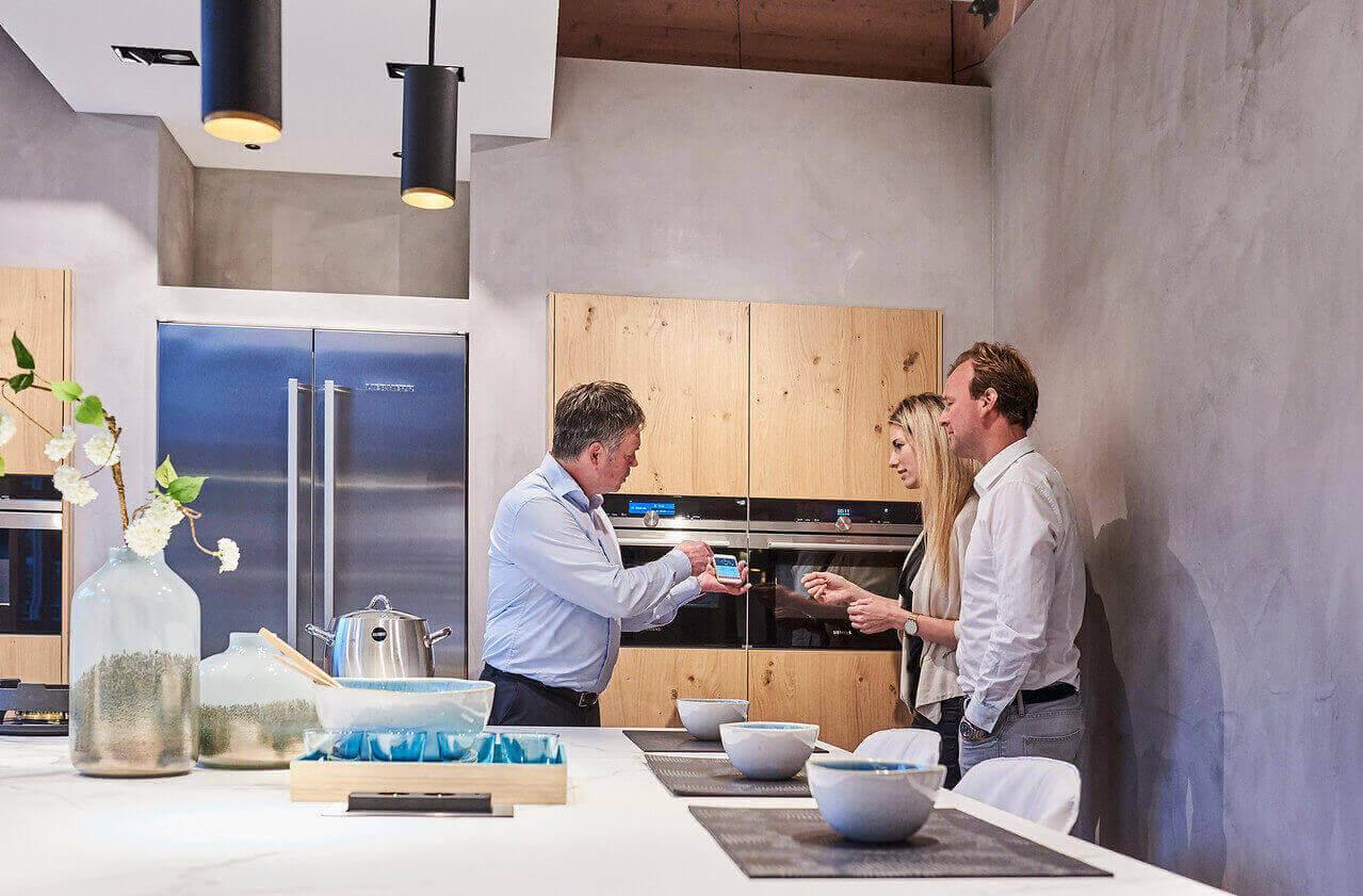 Domotica in de keuken