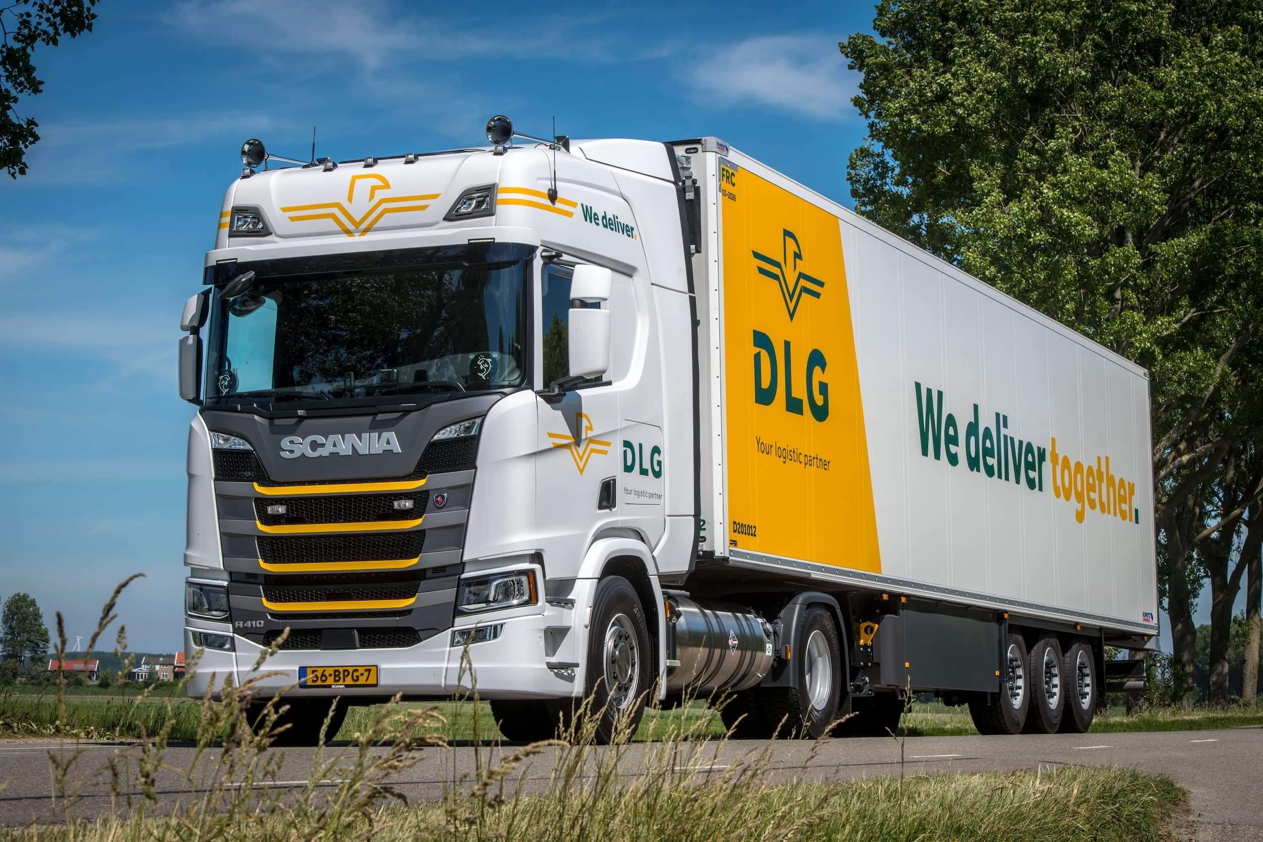 Vriestransport in Europa door DLG